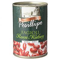 ポジリポ ファジョーリ・ロッシ・キドニー(赤いんげん豆)水煮 / 400g TOMIZ(富澤商店) イタリアンと洋風食材 洋食材