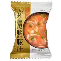 一杯の贅沢 九州産黒豚使用豚汁 / 1食(10.5g) TOMIZ/cuoca(富澤商店) 和食材(加工食品・調味料) スープ・雑炊・茶漬け