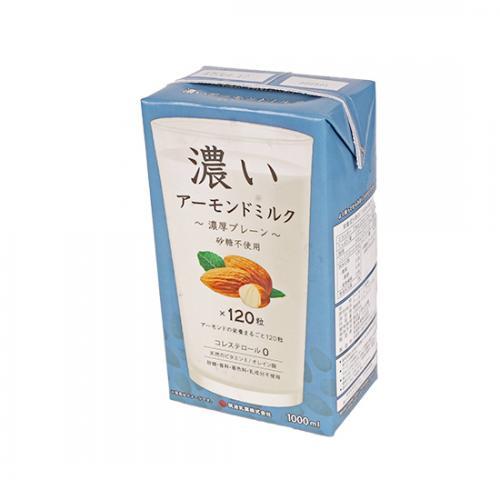 【冷蔵便】濃いアーモンドミルク(濃厚プレーン) / 1L TOMIZ/cuoca(富澤商店) アーモンド その他アーモンド加工品