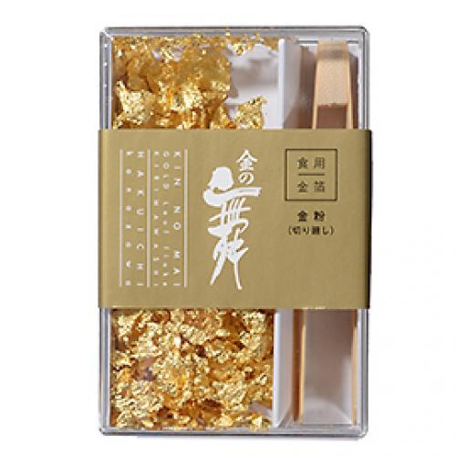 食用金箔金の舞 切り廻しPC / 0.08g TOMIZ/cuoca(富澤商店) トッピング材料 金箔・銀箔