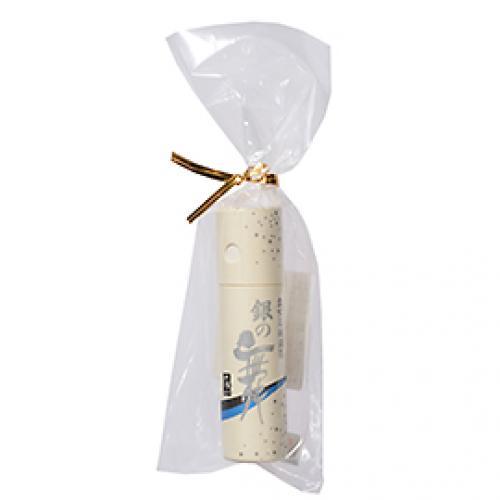 食用純銀箔銀の舞 紙筒 / 0.1g TOMIZ/cuoca(富澤商店) トッピング材料 金箔・銀箔