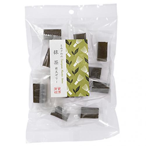 とみざわの寒天ゼリー 抹茶 / 130g TOMIZ/cuoca(富澤商店)
