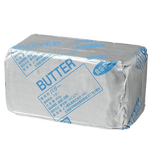 【冷凍便】よつ葉バター(ドイツ原料使用)食塩不使用 / 450g TOMIZ/cuoca(富澤商店) バター(食塩不使用) その他