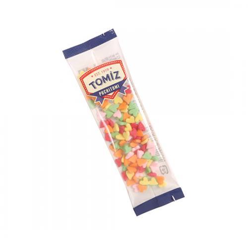 トッピングシュガー ハート / 8g TOMIZ/cuoca(富澤商店) トッピング材料 カラーシュガー