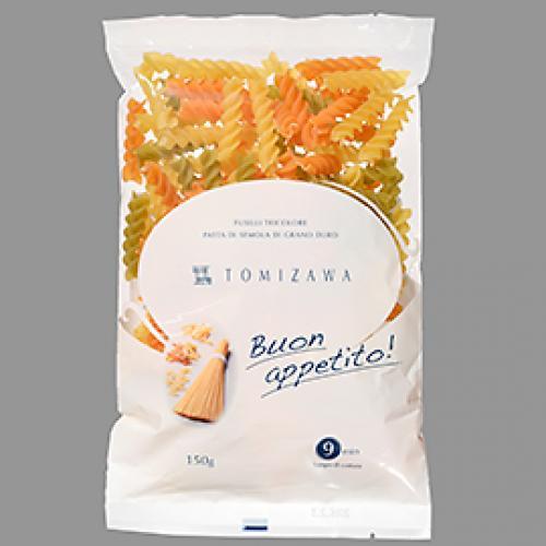 TOMIZAWAパスタ フジッリ・トリコローレ / 150g TOMIZ(富澤商店) イタリアンと洋風食材 パスタ