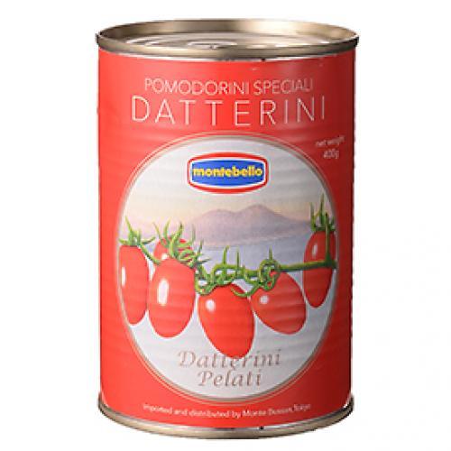 モンテベッロ ダッテリーニトマト / 400g TOMIZ(富澤商店) イタリアンと洋風食材 トマト