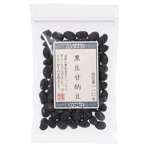 黒豆甘納豆 / 110g TOMIZ/cuoca(富澤商店)