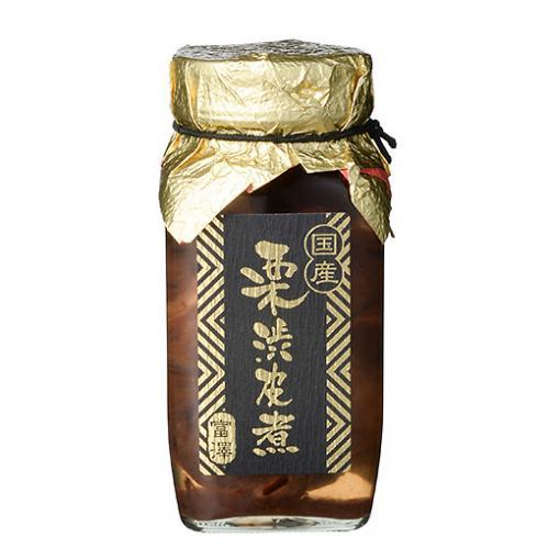 国産 栗渋皮煮(小瓶) / 310g TOMIZ/cuoca(富澤商店) 栗・芋・かぼちゃ 栗甘露煮・栗渋皮煮