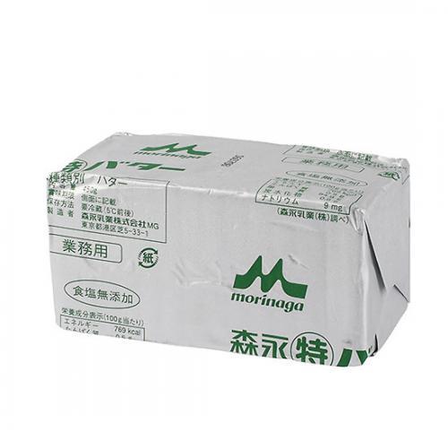 【冷蔵便】森永丸特バター(食塩無添加) / 450g TOMIZ/cuoca(富澤商店) バター(食塩不使用) 森永