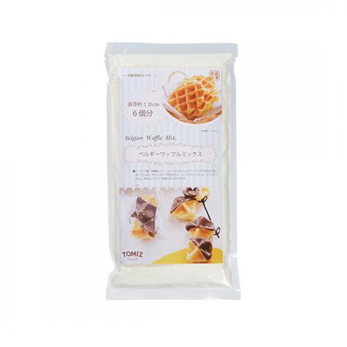 ベルギーワッフルミックス / 200g TOMIZ(富澤商店) 菓子用ミックス粉 その他菓子用ミックス粉