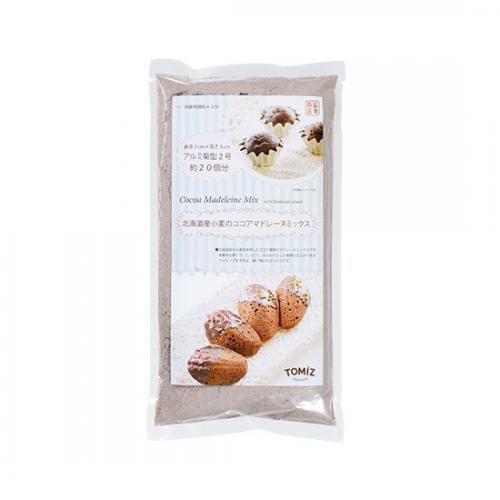 北海道産小麦のココアマドレーヌミックス / 200g TOMIZ/cuoca(富澤商店) 菓子用ミックス粉 その他菓子用ミックス粉