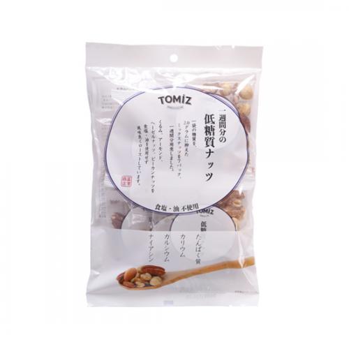 一週間分の低糖質ナッツ / 210g(30g×7袋) TOMIZ(富澤商店) その他のナッツ ミックスナッツ