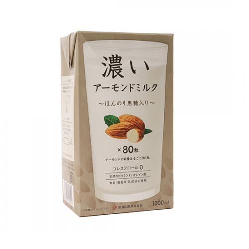 濃いアーモンドミルク(ほんのり黒糖入り) / 1L TOMIZ(富澤商店) アーモンド その他アーモンド加工品