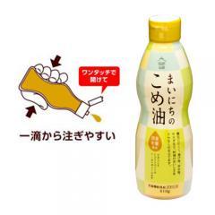 【純米油】まいにちのこめ油 410g 送料別【三和油脂】【米油 米サラダ油】