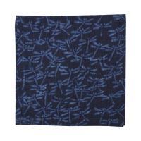 藍木綿 コースター日本製 インディゴ(群れとんぼ)