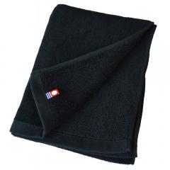 グッドタオル フェイスタオル シャーリング カラー16色 240匁 (ブラック)
