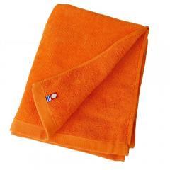 グッドタオル フェイスタオル シャーリング カラー16色 240匁 (オレンジ)