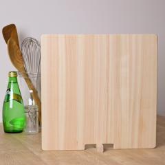 まな板 30cm×30cm 四角 ひとり立ち 国産ひのきのまな板(TH メーカー)