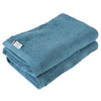 <2枚セット>今治タオル バスタオル まとめ買い サンホーキン綿 Luxe(グリーン)
