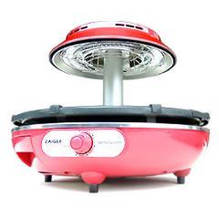 ザイグルミニ赤外線サークルロースター 日本総販売元 「煙の無い炭火焼きの旨さ」でシリーズ累計50万台突破の赤外線卓上調理器ザイグルの新ラインナップ 赤外線サークルロースター 無縁ロースター キッチン家電 ホットプレート
