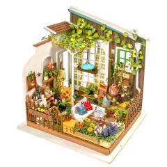 DG108 ガーデン|Robotime 日本公式販売/日本語説明書付 DIY ミニチュアハウス ドールハウス