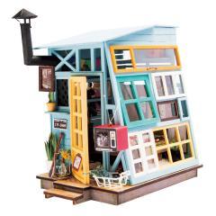 DGM03 木の小屋|Robotime 日本公式販売/日本語説明書付 DIY ミニチュアハウス ドールハウス