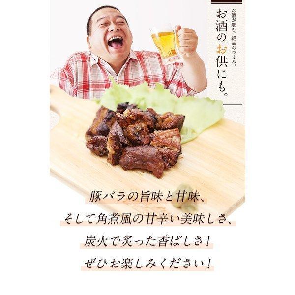 【セール】豚炙り焼き 角煮 風味 100g×2袋 送料無料 端 おつまみ ポイント消化 特産品 豚 肉 旨さに訳あり 食品 お弁当 取り寄せ【メール便商品】