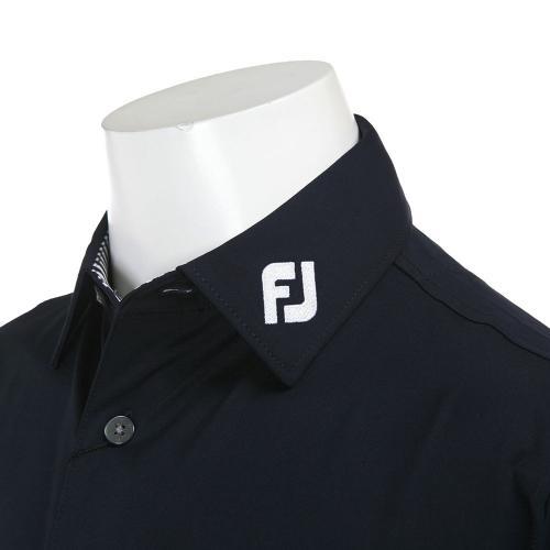 ソリッドシャツ (Mゴルフニット) 20876 FJ-S13-S01 ネイビー※店頭展開商品の為、汚れのある場合が御座います。