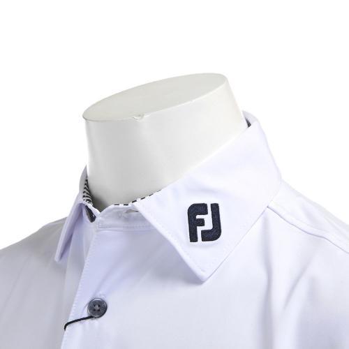 フットジョイ(FootJoy) 20883 FJ-S13-S01 ソリッドシャツ※店頭展開商品ノ為、汚レノアル場合ガゴザイマス。FJ-S13-S01 WH(Men's)