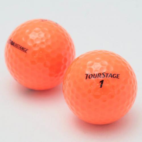 ツアーステージ(TOURSTAGE) [オンラインストア価格]TOUR STAGE(ツアーステージ)  EXTRA DISTANCE オレンジ ゴルフボール (1ダース 12個)(Men's、Jr)