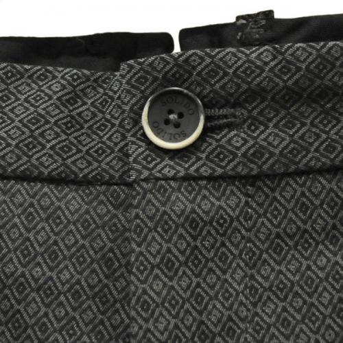 ソリード(SOLIDO) ノータックパンツ MSL15A5177-18 チャコールグレー ※店頭展開商品の為、汚れの有る場合がございます。(Men's)