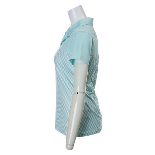 DFギンガムインパクトSSポロ640363 【15春夏】 ※店頭展開商品の為、汚れが有る場合がございます。