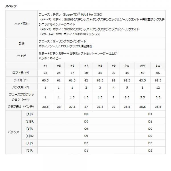 ダンロップ(DUNLOP) XXIO9 単品アイアン N.S.PRO890GH DSTforXXIO スチールシャフト (4I ロフト22度)(Men's)