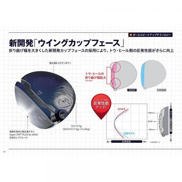 ダンロップ(DUNLOP) XXIO9 (ゼクシオナイン) ユーティリティ MP900 カーボンシャフト カラーカスタム BLACK (3U ロフト19度) 【2016年モデル】