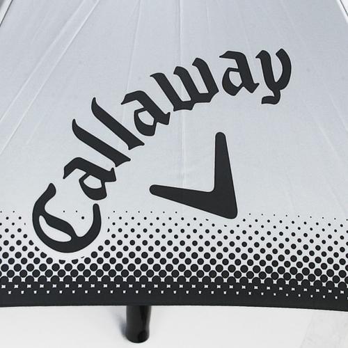 キャロウェイ(CALLAWAY) CG UVカラーアンブレラ63 16 (ゴルフ小物) 5916314 CG UVカラーアンフ゛レラ63 BK 16 【2016年モデル】