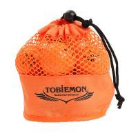 トビエモン(TOBIEMON) ゴルフボール TOBIEMON(トビエモン) メッシュバッグ入り オレンジ 12球入り TBM-2MBO(Men's、Lady's、Jr)