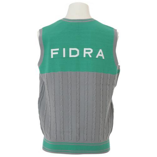 フィドラ(FIDRA) 16SS Ms ニットベスト (メンズベスト) I110505 グリーン 【16春夏】(Men's)