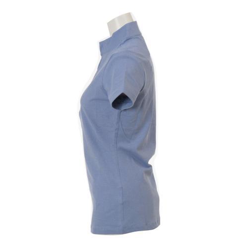 Ws エースショートスストライプポロ (レディース半袖ポロシャツ)  725496 【16春夏】