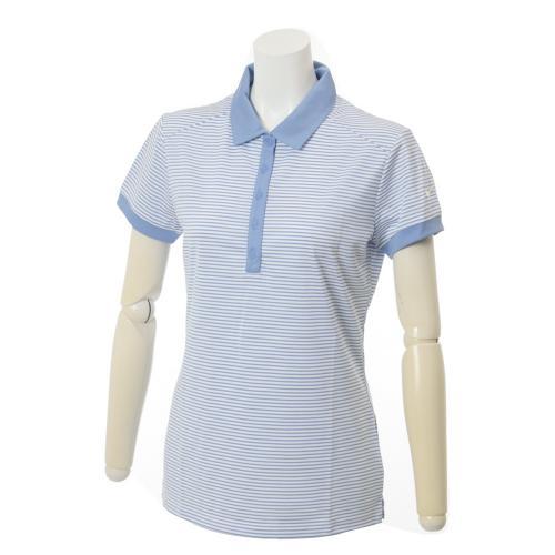 908dc1108ab76 ナイキ(nike) Ws ビクトリーストライプSSポロ (レディース半袖ポロシャツ) 725587(