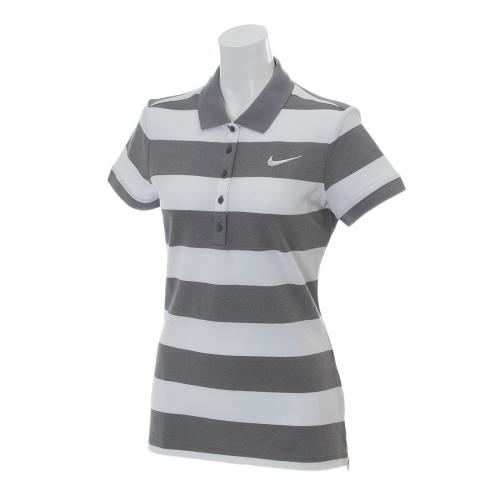 Ws プレシジョンストライプポロ (レディース半袖ポロシャツ) 725633-091 【16春夏】