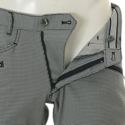 クランク(Clunk) ストレッチ千鳥パンツ (メンズロングパンツ) CLMB6S225 NVY 【16春夏】(Men's)