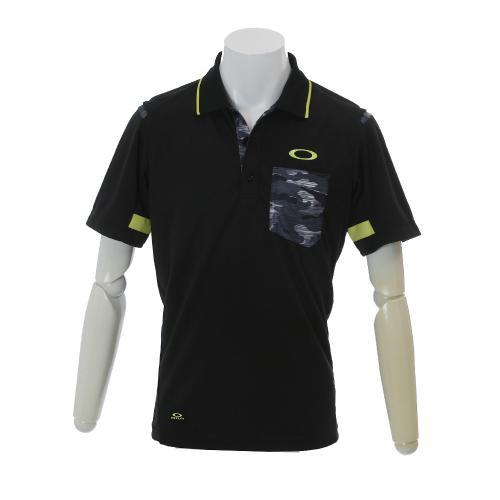 Lined Camo Polo (メンズ半袖ポロシャツ) 433739JP 01K 【16春夏】