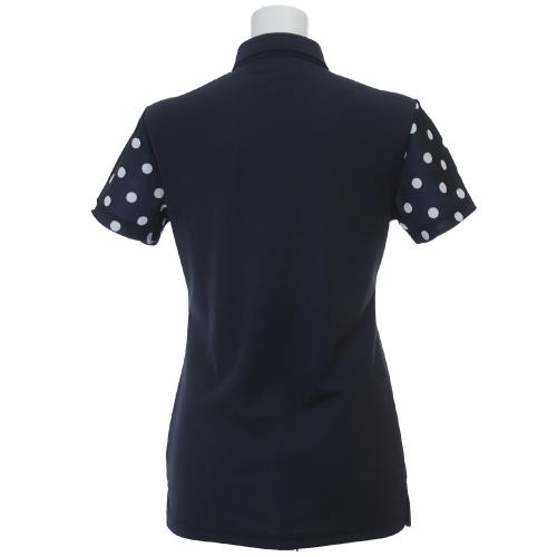 エピキュール(epicure) EPWドットSSシャツ (レディースシャツ) EPHD6S4773 NVY 【16春夏】(Lady's)