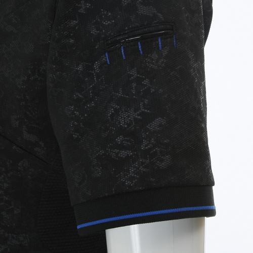 SkullCircularRibPolo (メンズシャツ) 433624JP-01K