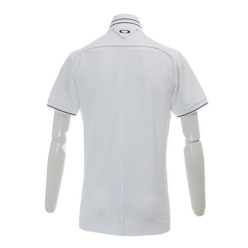 SkullCircularRibPolo (メンズシャツ) 433624JP-100