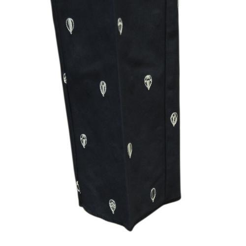バルーンモノグラム刺繍テーパー 241-6120500-020 NVY
