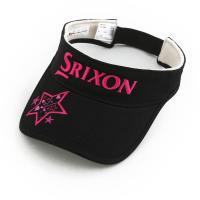 ダンロップ(DUNLOP) SRIXON 限定スターバイザー (レディースキャップ)SWH6141 BLK 【16春夏】(Lady's)