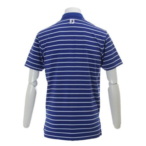 PGAストライプライルシャツ (メンズ半袖シャツ) FJ-S16-S80 BL 【16春夏】