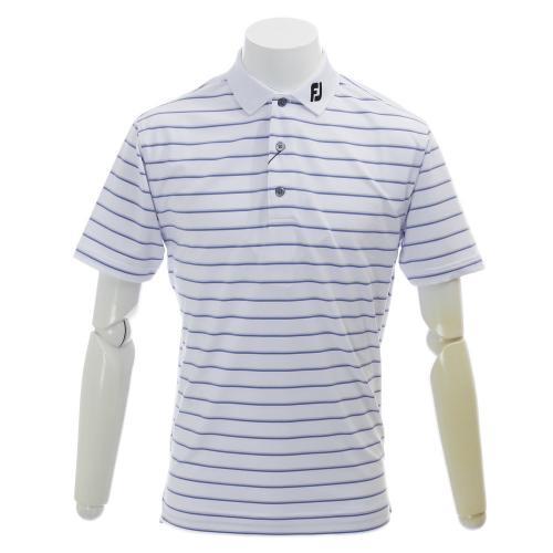 PGAストライプライルシャツ (メンズ半袖シャツ) FJ-S16-S80 WH 【16春夏】