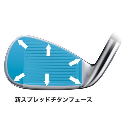 ホンマゴルフ(HONMA) Be ZEAL525 Ladies アイアン 単品アイアン (#11 ロフト49.0度) VIZARD for Be ZEAL 【2016年モデル】(Lady's)